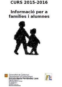 Informació famílies 2015-2016