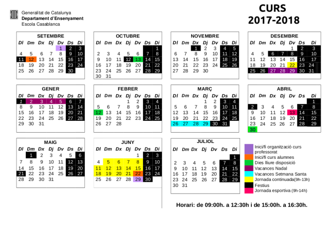 calendari 2017-18